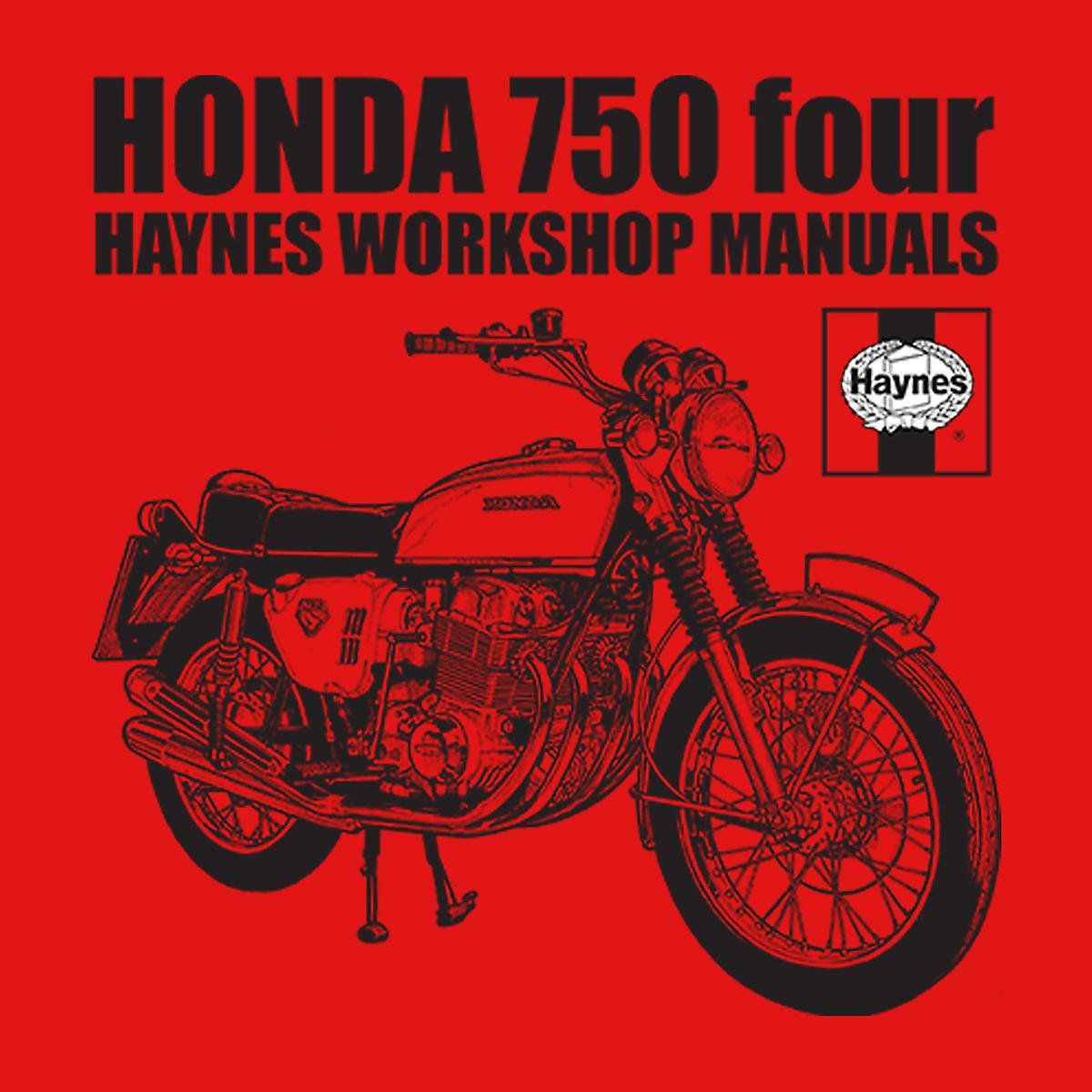 Haynes Owners Workshop Manual Honda 750 Four Kid's Varsity Jacket