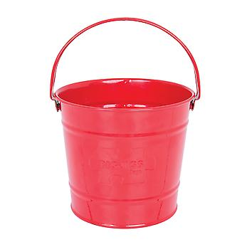 Bigjigs Toys Children's Red Bucket - Garden Tools and Accessories