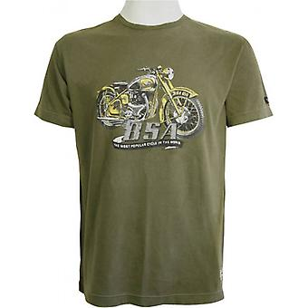 BSA Golden Flash T-Shirt-Khaki
