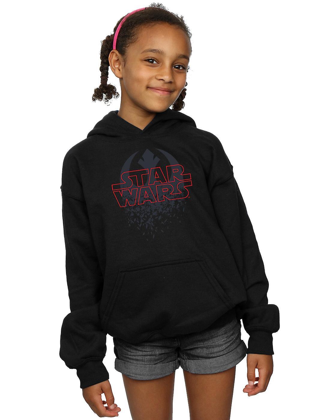 Filles de Star Wars Jedi dernier Shatterouge emblème Hoodie