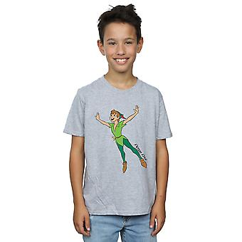 Disney Boys Peter Pan Classic Flying Peter T-Shirt
