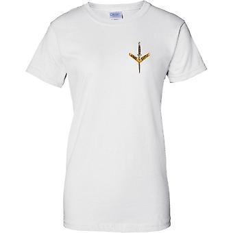 Australische leger speciale Op Commando - 1ste Regiment - dames borst Design T-Shirt