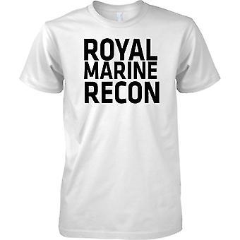 Royal Marine Recon - Text - Kids T Shirt