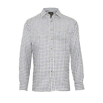 Mens Champion Salisbury Country Style Casual Check langärmeliges Hemd 3069