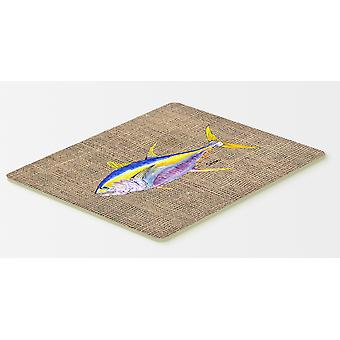 Carolines Treasures  8771CMT Fish - Tuna Kitchen or Bath Mat 20x30