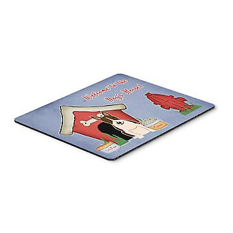 Dog House Collection Bull Terrier Dark Brindle Mouse Pad, Hot Pad or Trivet