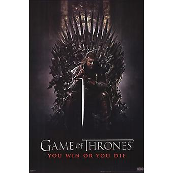 Game of Thrones - Iron Throne Poster Poster Print