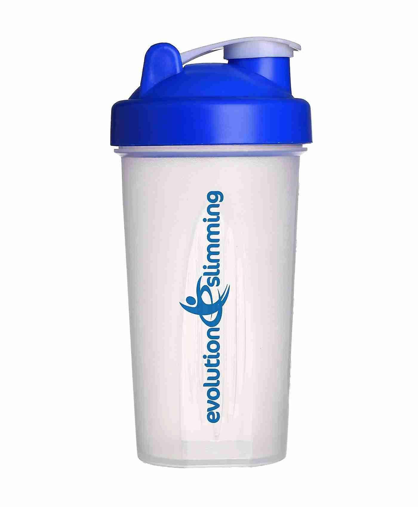 Evolution Slimming Large 700ml Protein Shaker - Blue/Clear - Protein Shaker - Evolution Slimming