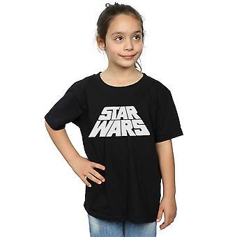 Star Wars Girls Retro Logo T-Shirt