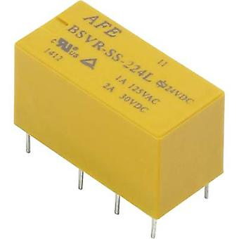 PCB relays 12 Vdc 2 A 2 change-overs AFE BSVR-SS-2