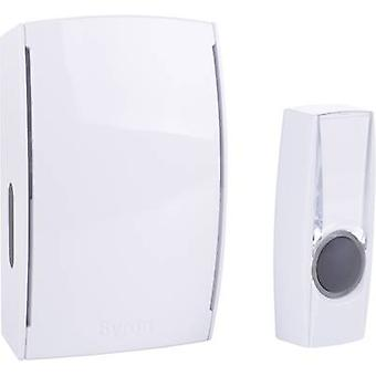 Wireless door chime Complete set backlit, with nameplate Byron BY501E