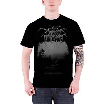 Darkthrone T Shirt Death And Beyond Band Logo Official Mens New Black