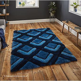 Oscar dunkel blauen Teppich
