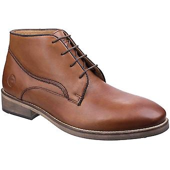 Cotswold Mens Maugesbury Lace Up Leather Oxford Casual Ankle Boots