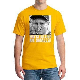 Sand drab Version 6 mænd guld T-shirt