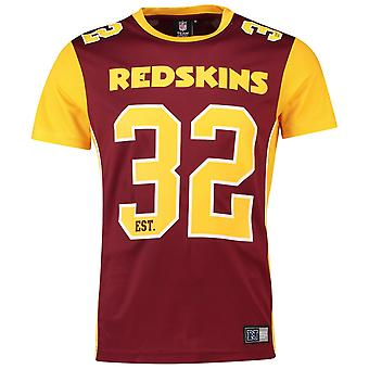 Camicia in Jersey poliestere maglia maestoso - Washington Redskins