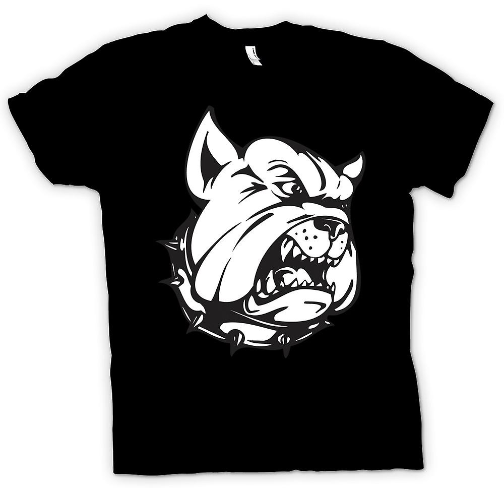 Heren T-shirt - Bulldog Guard Dog - Funny