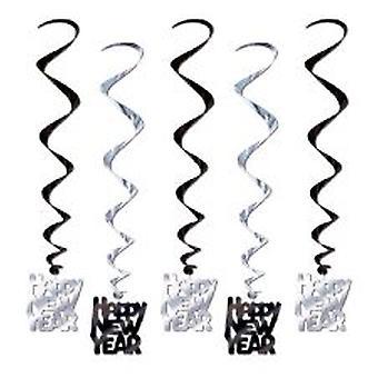 Frohes neues Jahr hängende Dekoration