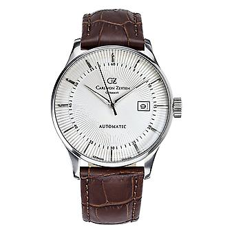 Carl of Zeyten men's watch wristwatch automatic Russ CVZ0004WH