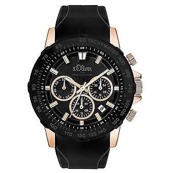 s.Oliver Мужские Часы наручные часы силиконовые SO-3491-м