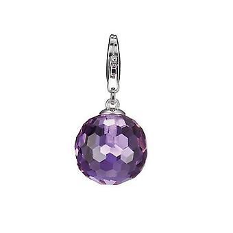 ESPRIT pendant of charms silver lavendar stone XL ESZZ90538G000
