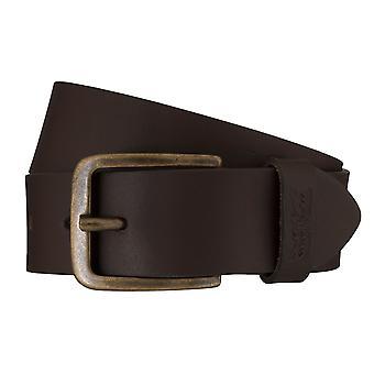 Cinturón de los pantalones vaqueros de Levi BB´s cinturones hombre cinturones cuero marrón 6253