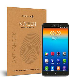 Celicious Impact Anti-Shock Shatterproof Screen Protector Film Compatible with Lenovo S939