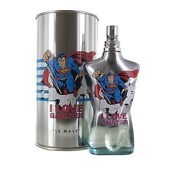 Jean Paul Gaultier Le Male Superman Eau Fraiche 125ml Eau de Toilette Spray for Men