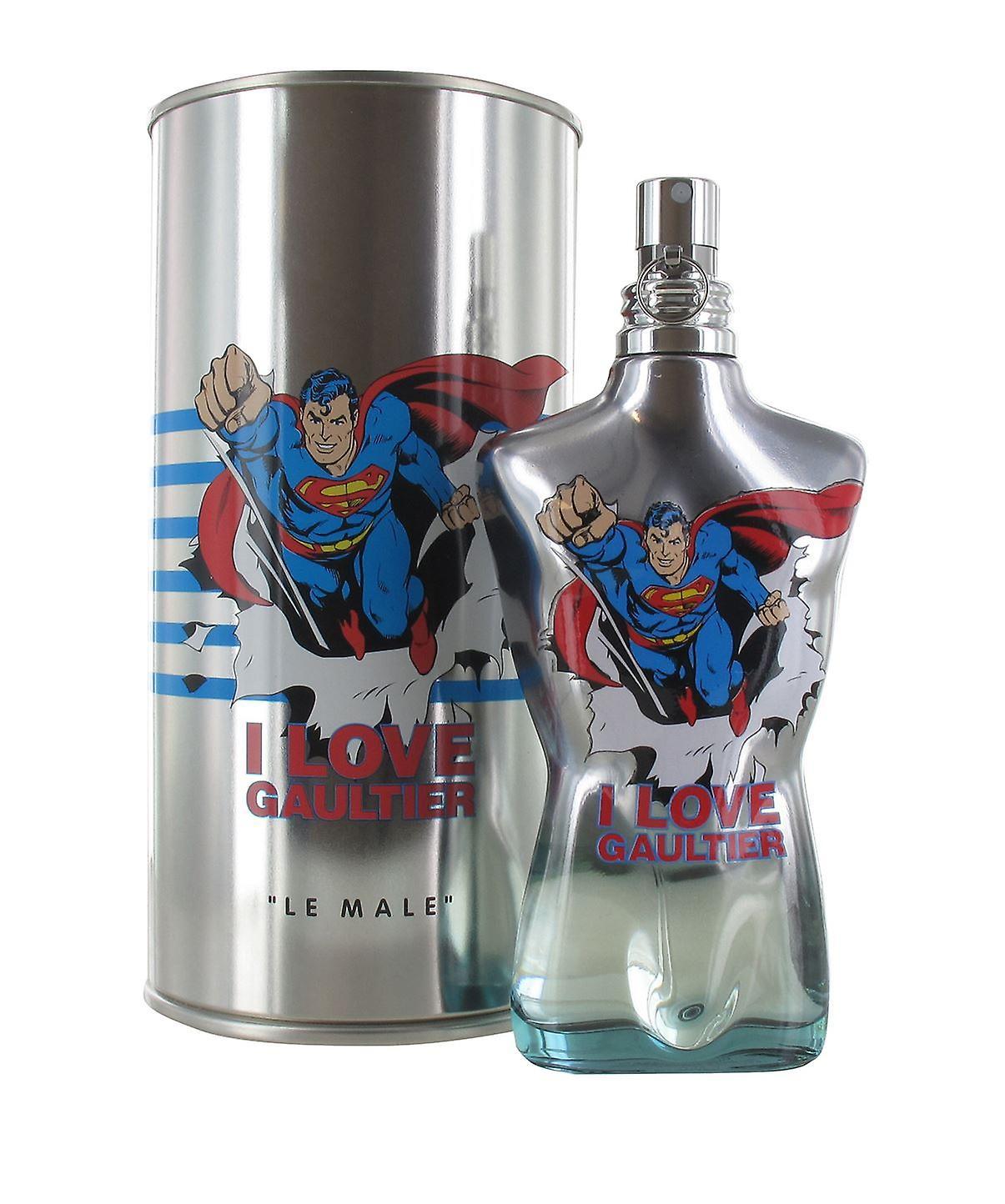 125ml Paul Jean Le Men Male Superman Fraiche Spray For De Gaultier Toilette Eau 0y8OvmNnw
