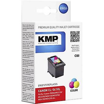 KMP Ink replaced Canon CL-541, CL-541XL Compatible Cyan, Magenta, Yellow C88 1517,4030