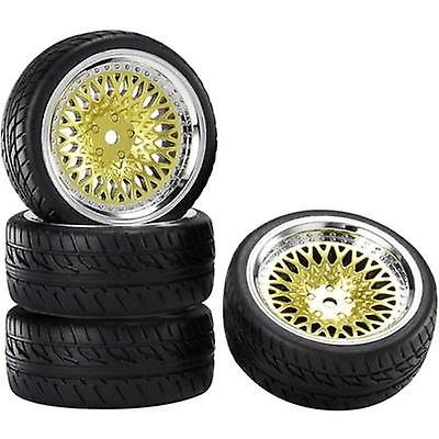 Reely 1:10 Road version Wheels Racing CLS Gold 4 pc(s)
