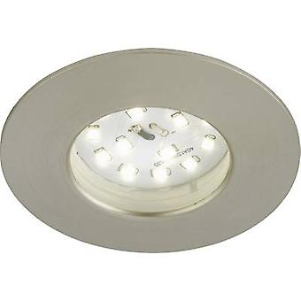 LED outdoor recessed light 5 W Warm white Briloner 7234-012 Nickel (matt)
