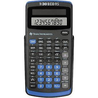 Texas Instruments TI-30 ECO RS CAS kalkylator svart display (siffror): 10 Solar-Powered (b x H x D) 71 x 13 x 147 mm