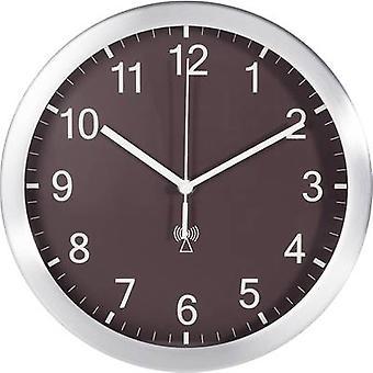 TFA 98.1091.08 Radio Wall clock 25 cm x 4 cm Aluminium (matt)