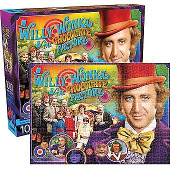 Willy Wonka (Gene Wilder) 1000 Piece Jigsaw Puzzle 690 X 510 Mm