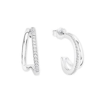 s.Oliver jewel ladies earrings cubic zirconia 2022739