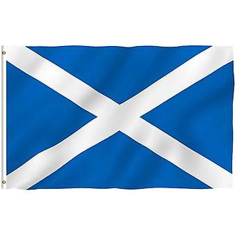 Scotland St Andrew's Polyester Flag - Large (85cm x 150cm)