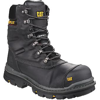 CAT Workwear Mens Premier Waterproof Leather S3 Safety Boots