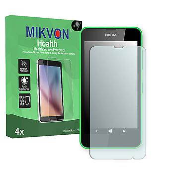 Nokia Lumia 635 Screen Protector - Mikvon Health (Retail Package with accessories) (intentionally smaller than the display due to its curved surface)