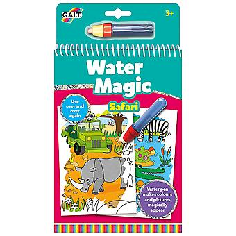 Galt agua Magic Safari, libro de colorear para niños