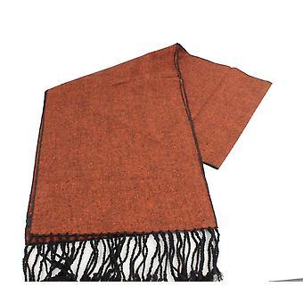 Knightsbridge Krawatten Tweed Scarf - Burnt Orange