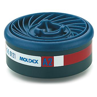 Moldex 9200 Easylock 7000/9000 serie A2 Gas Filter Pack 2