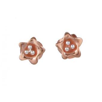 Cavendish French Golden Starflower Earrings