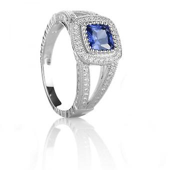 Cavendish French Sapphire Blue Beauty Ring