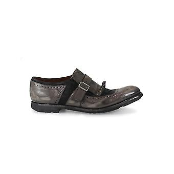 CHURCH'S SHANGHAI TARTAN GREY/ANTHRACITE LOAFER