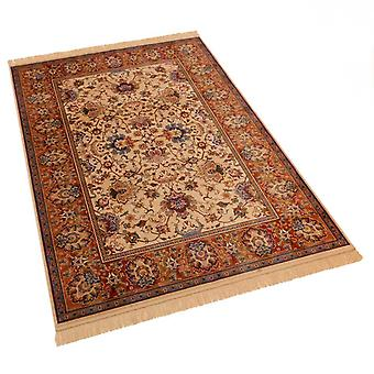 Large Artificial Faux Silk Effect Antislip Indian Agra Rugs 4620/4 160 x 230cm