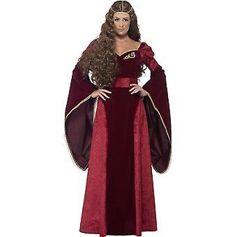 Medieval Queen Deluxe Costume, UK 16-18