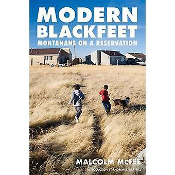 Nowoczesne Blackfeet - Montana na rezerwacji przez Malcolm McFee - Andre