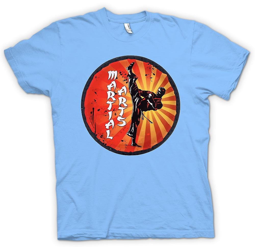 Mens T-shirt - Martial Arts - Pop Art Design
