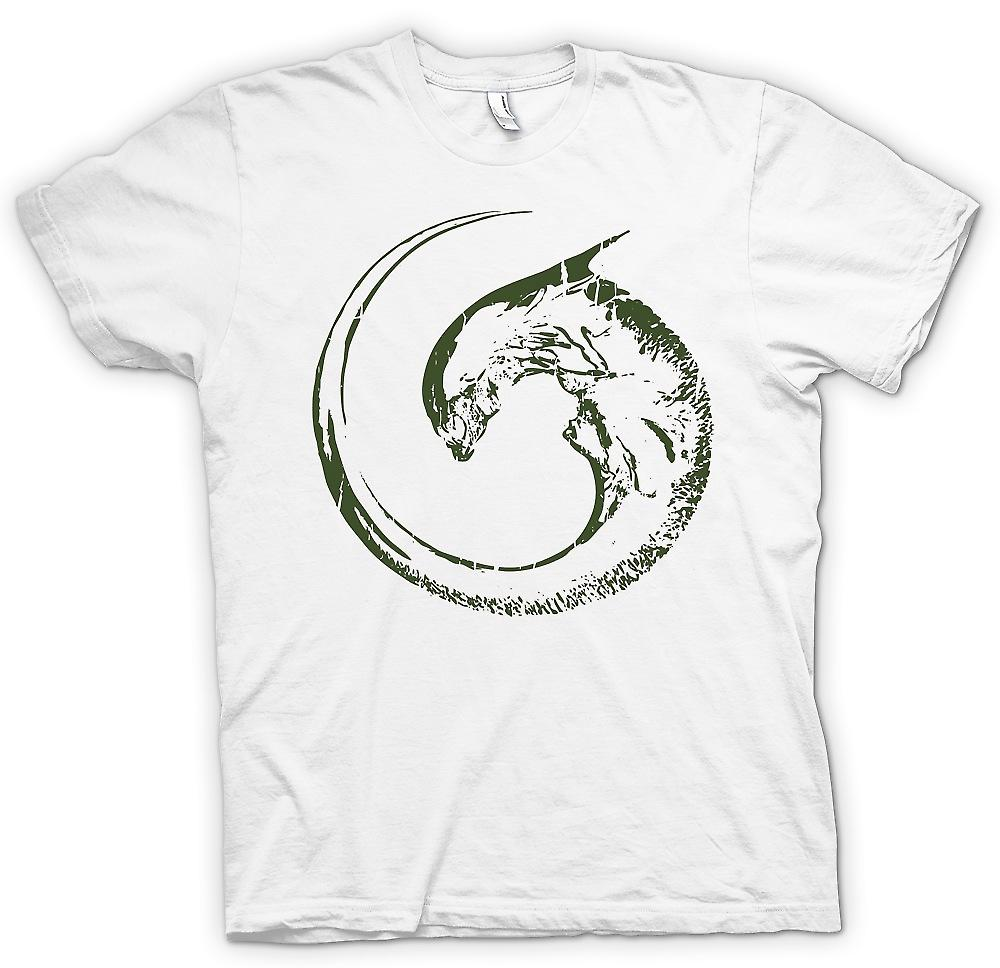 Mens T-shirt - Alien Swirl - Space Horror